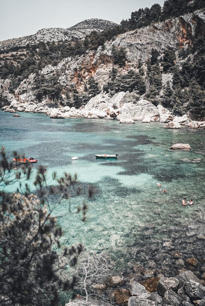Einsame Bucht